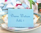Wedding Place cards - elegant escort cards - SET OF 50
