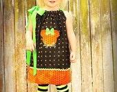 Minnie Mouse Halloween Pumpkin Pillowcase Dress