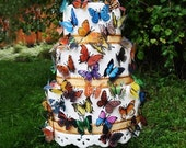 SUMMER BUTTERFLY CAKE