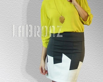 SALE Night City Skyline Skirt