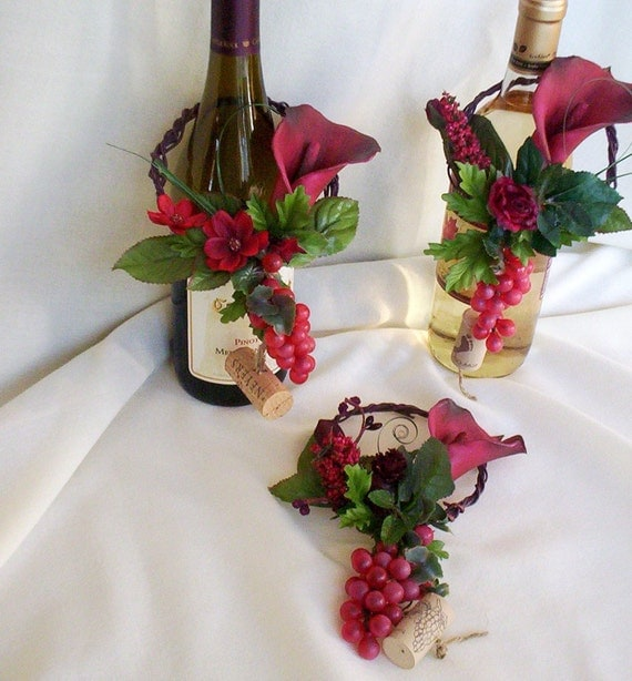 italian event wine bottle toppers decoration amorebride. Black Bedroom Furniture Sets. Home Design Ideas