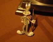 Vintage Valentine Bugs Bunny Brooch