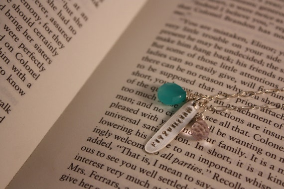 Love for Mr. Darcy, Pride and Prejudice Necklace