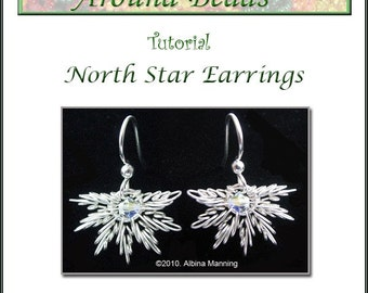 North Star Earrings Tutorial