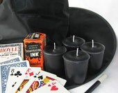 BLACK MAGIC (4 votives or 4-oz soy jar candle)