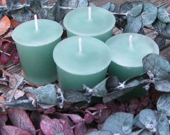 EUCALYPTUS (4 votives or 4-oz soy jar candle)