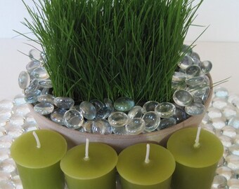 LEMONGRASS (4 votives or 4-oz soy jar candle)
