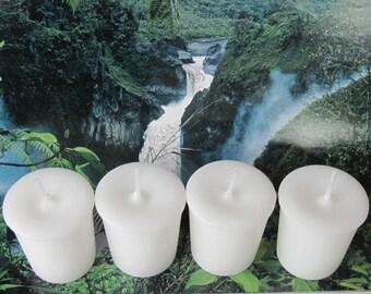 WHITE GARDENIA (4 votives or 4-oz jar candle)