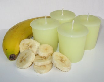 BANANA CREAM PIE (4 votives or 4-oz jar candle)