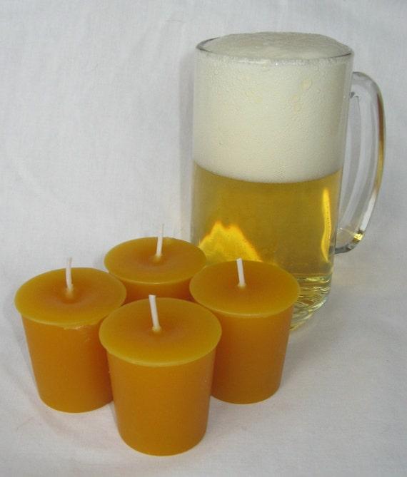 BEER (4 votives or 4-oz soy jar candle)