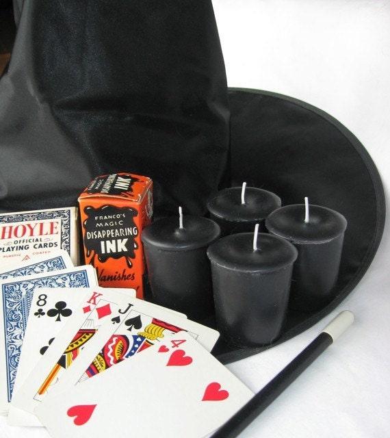 BLACK MAGIC (4 votives or 4-oz soy jar candle)