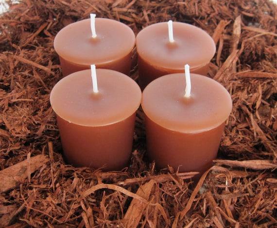 CEDAR MULCH (4 votives or 4oz soy jar candle)