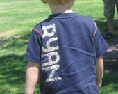 Add a Name to your t-shirt - Personalize your Toddler Shirt (personalization only, purchase with t-shirt) great for birthdays and more