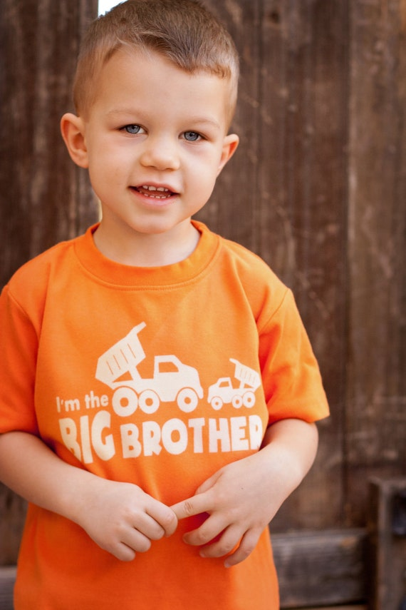 I'm the BIG Brother Toddler Shirt, Ink Free, Sizes 12m to 6, High Quality Tshirt, click for more colors
