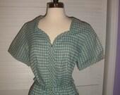 Vtg 1950s  New Old Stock,  Day Dress, House Dress, Sz 18 1/2