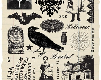 Haunted - Rubber Stamp Collection