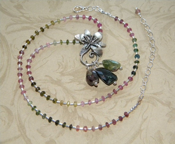 Chasing  Dreams - Tourmaline Necklace