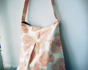 Pleated Shoulder Bag PDF Sewing Pattern and Tutorial
