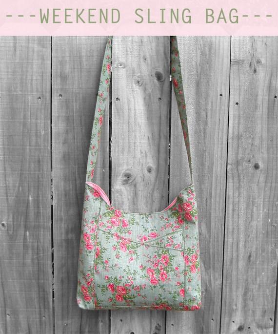Weekend Sling Bag PDF Sewing Pattern