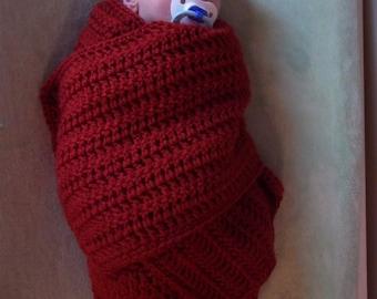 Cocoon Crochet Pattern, Baby Cocoon Crochet Pattern, Swaddler Crochet Pattern, Swaddler Cocoon Crochet Pattern, Swaddle Blanket Crochet