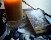 Fortunes Told - Combined Tuscan Witch Stone and Card Reading