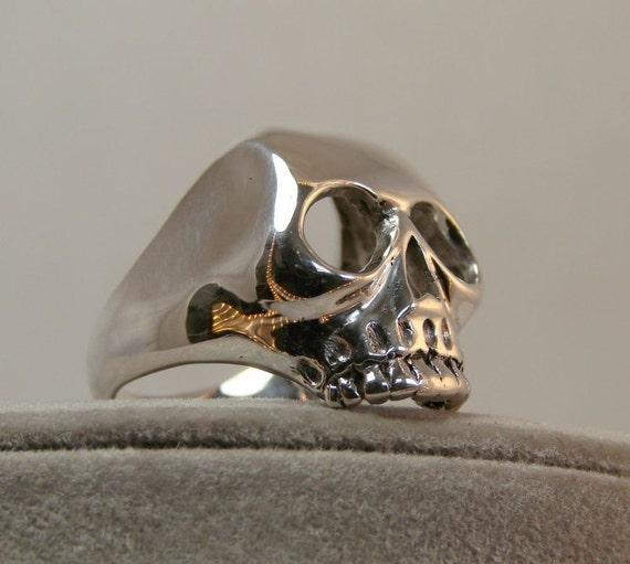 Yourik / Bald Skull-Sterling Silver - 119
