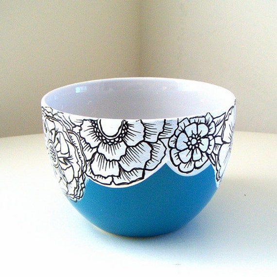 Ceramic bowl ideas the image kid has it for Clay mural designs