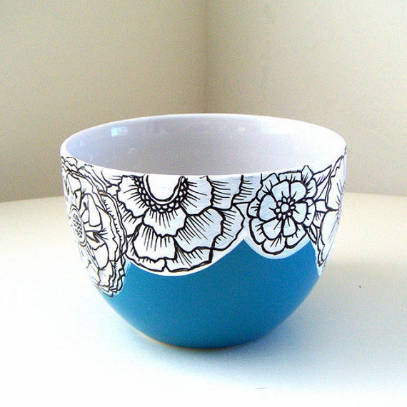 Unavailable listing on etsy for Pottery painting design ideas