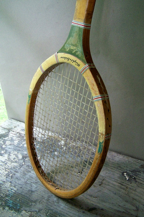 Vintage Wright and Ditson Columbia Tennis Racket