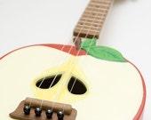 NEW ( PLYWOOD body)  Apple ukulele ( applelele )