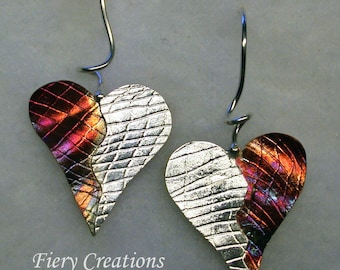 Two Hearts One - Secrets of the Heart Collection - Copper and Sterling Silver