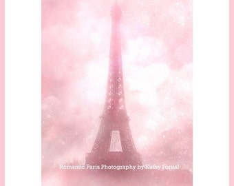 Pink Eiffel Tower Print, Paris Pink Eiffel Tower, Paris Photography, Baby Girl Nursery Decor, Pink Eiffel Tower Print, Eiffel Tower Prints