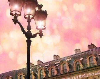 Paris Photography, Place Place Vendome Street Lamps, Paris Street Lanterns, Paris Architecture Print, Paris Street Lamps Fine Art Photograph