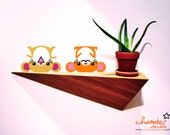 Cute Playful Hamsters Wall Decal