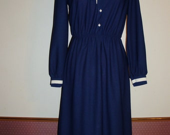 Retro Polyester Dress