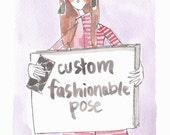 Custom Full Pose 8 x 10