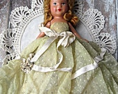 Vintage bisque Hollywood doll , very old