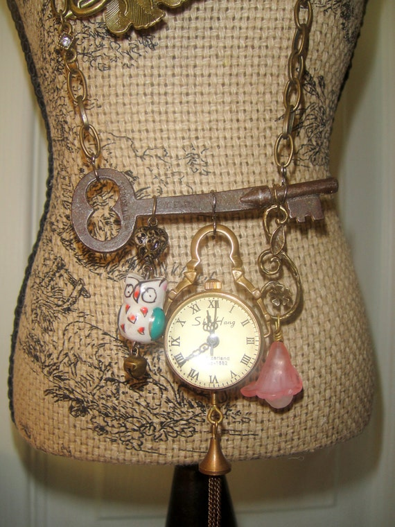 What time is It.....(key necklace)