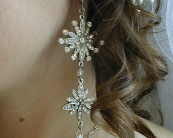 Phanton of the Paris Opera Rhinestone Earrings