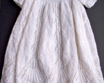 Flowing Baptismal Gown