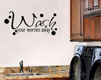 Laundry Sayings For Walls Classy Laundry Room Wall Sayings Vinyl Wall Decals Quote Lettering Inspiration
