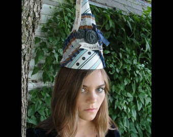 Bravo.....a special occasion hat, costume, fascinator, party hat, photo prop
