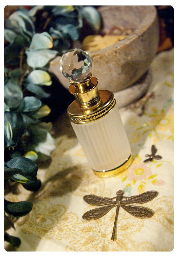 natural botanical perfume oil held captive within victorian style bottle -the bellatrix bottle- over 60 orgasmically awesome aroma options