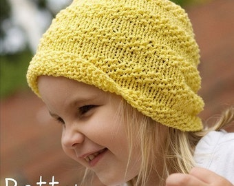 make your own Sunny Textured Hat (DIGITAL KNITTING PATTERN) newborn baby toddler child