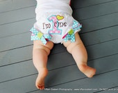 First Birthday Bloomers, Cupcake, Birthday Outfit, I'm One, Number One