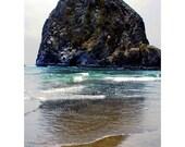 Cannon Beach - Haystack Rock Goonies Photography Oregon Nautical Coast Home Decor Artwork - 5x7 Photograph