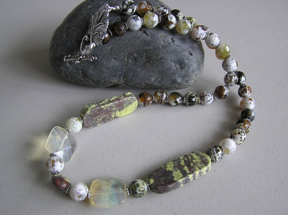 Frosting on a Cake (Lepidolite Necklace)