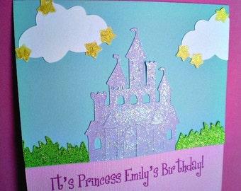 Princess Party Invitations, Princess Castle Invitation, Princess Party, Princess Birthday, Princess Invitation, Castle Invite, Set of 12