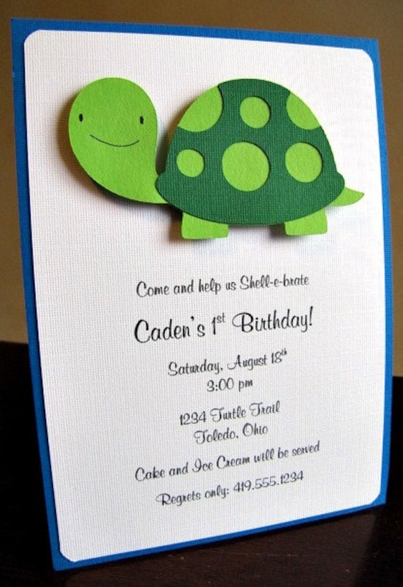 Turtle party invitations tommy turtle baby shower baby shower il570xn filmwisefo