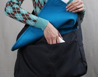 Sale20%OFF-Ready to Ship-Messenger Bag in Dark Gray/tote/handbag/diaper bag/school bag/bags/messenger bag/laptop bag/For Her/For Him-051